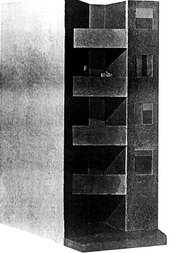 Michael Fuaerbach, Co-Op 1, c.1969, sculpture, 61 x 42 x 27 in.