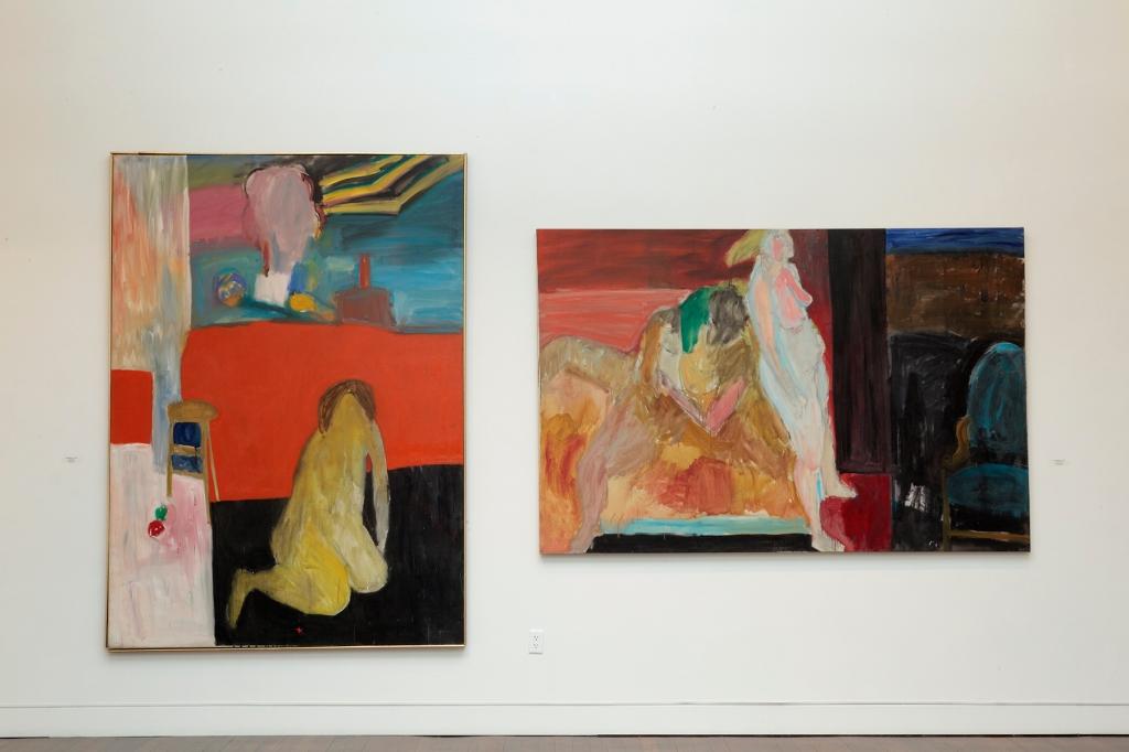 Pioneers installation George Segal paintings S wall copy