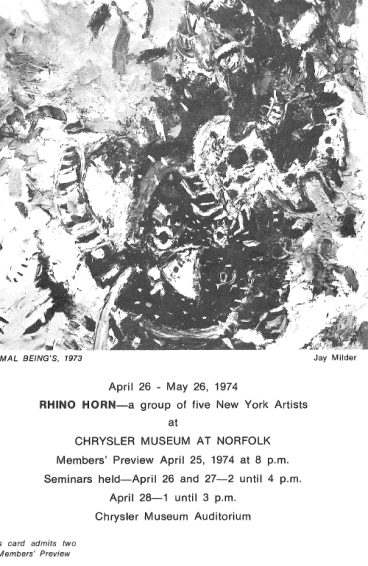 RhinoHorn_ChryslerMuseum_Flyer
