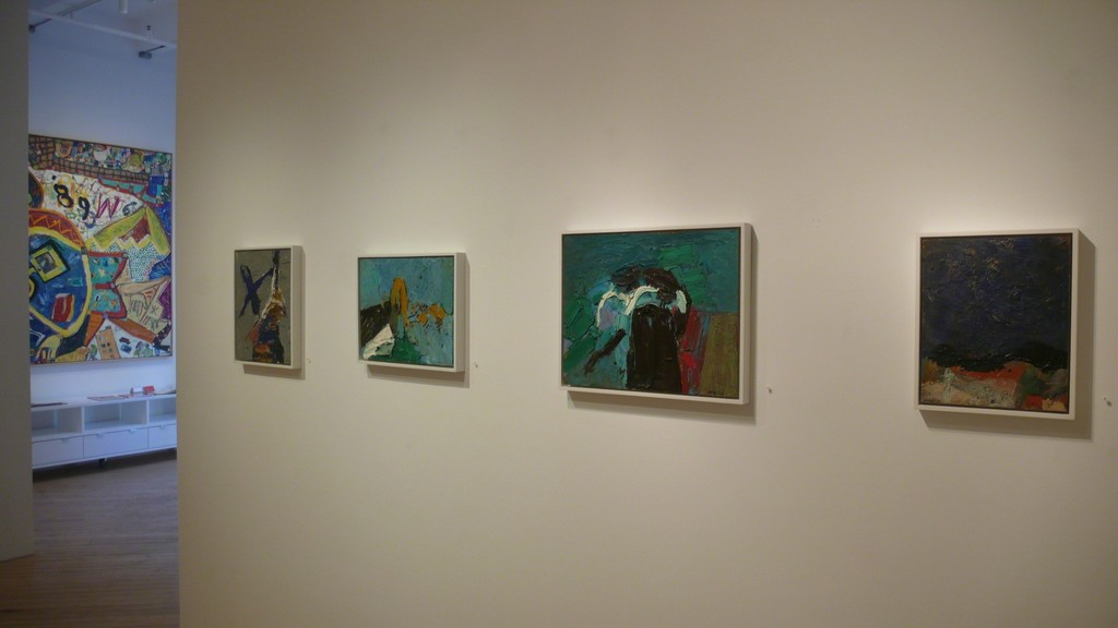 Installation of George McNeil: About Place at ACME Fine Art in Boston