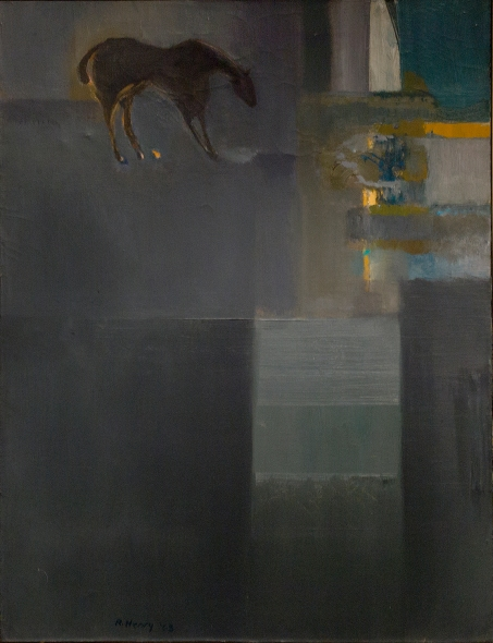 Robert Henry, Idyll, 1963, Oil on canvas, 30.5 x 23 inches