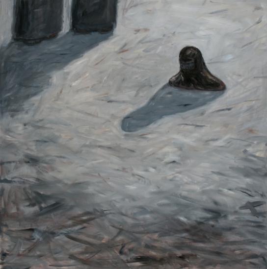 Anki King, In Love, 2011,  oil on canvas, 80 x 80