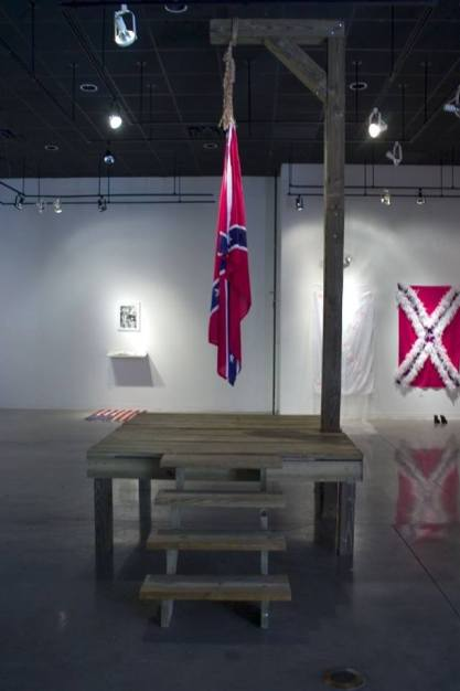 John Sims, The Proper Way to Hang a Confederate Flag, 2004