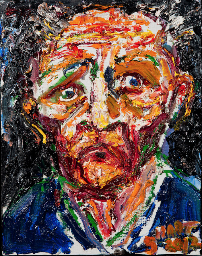 Self Portrait at Age 87