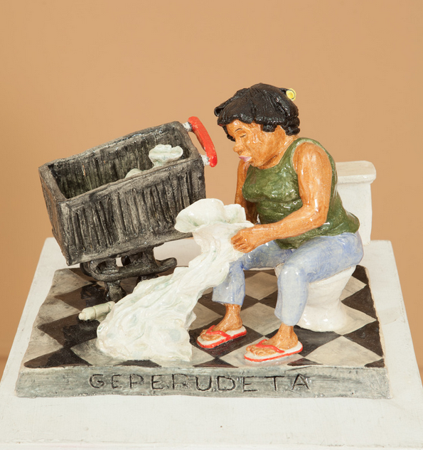 Geperudeta, 2014, Ceramics, 10 x 6 x 8.5 in.